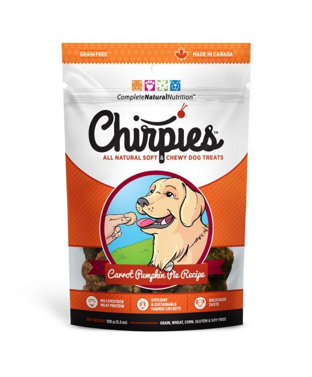 comida para perro grillos