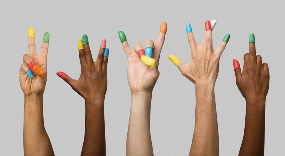 yemas de dedos