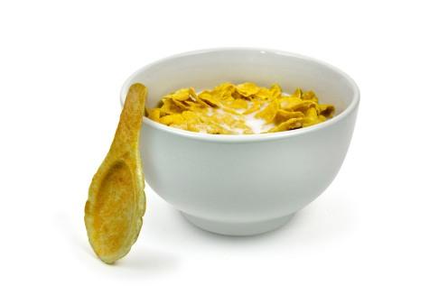 cuchara comestible